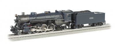 Wabash #696 Semi-Scale 4-6-2 Pacific
