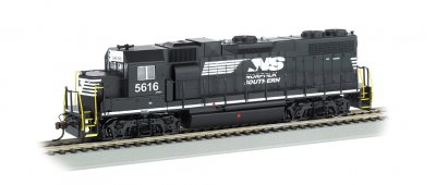 Norfolk Southern #5616 (Thoroughbred) - GP38-2 (HO Scale)