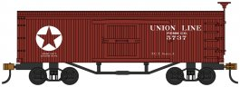 Union Line - Old-time Box Car