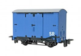 Narrow Gauge Box Van - Blue (HOn30 Scale)