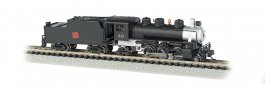 Canadian National #613 - Prairie 2-6-2 & Tender (N Scale)