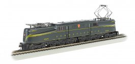 PRR #4829 Green Feathered Stripe-DCC Sound Value (HO GG1)