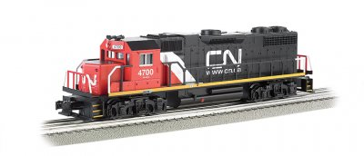 Canadian National #4700 - GP-38 Powered