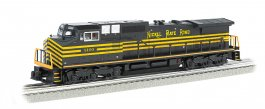 Nickel Plate #8100 GE DASH 9 w/ True Blast® Plus