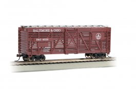 Baltimore & Ohio® - 40' Stock Car (HO Scale)