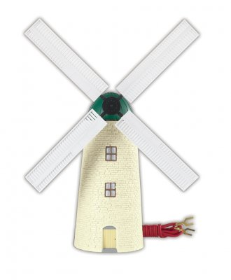 Operating Windmill (HO Scale)