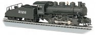 ATSF #2128 -USRA 0-6-0 W/Smoke & Slope Tender (HO Scale)