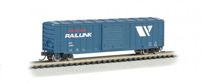 Montana Rail Link - ACF 50.5' Outside Braced Box Car