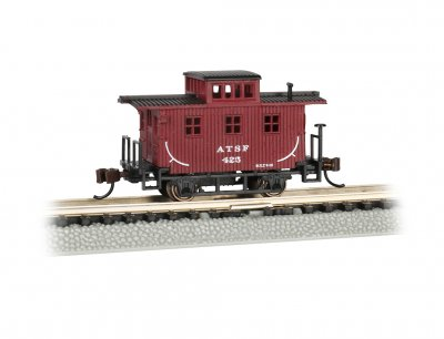 Santa Fe - Old-Time Caboose (N scale)