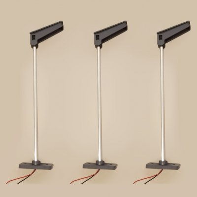 LED Lamp Posts - Single-Sided (3 per Pack)