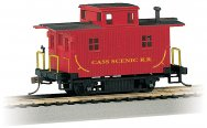 Cass Scenic R.R. - Bobber Cabooses (HO Scale)