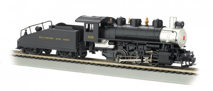 Baltimore & Ohio® - USRA 0-6-0 w/ Slope tender (HO Scale) - Click Image to Close