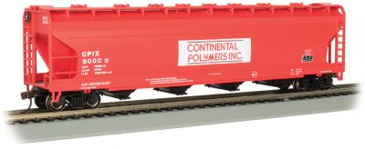 Continental Polymers #3000 - 56' ACF Center-Flow Hopper