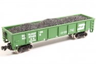 Burlington Northern - 40' Gondola w/coal load