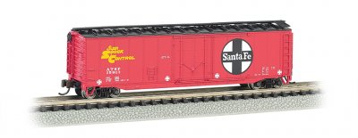 Santa Fe - 50' Plug-Door Box Car