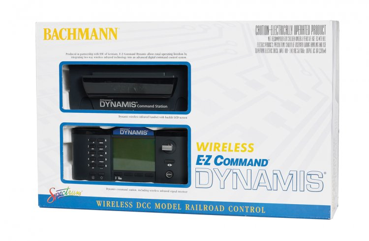 E-Z Command® Dynamis® Wireless Infrared DCC System - Click Image to Close