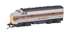 Erie Lackawanna (maroon & gray) - F7A - DCC