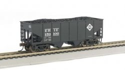 ERIE #159100 - 55-Ton 2-Bay USRA Outside Braced Hopper