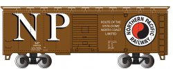 Northern Pacific #27231 40' Box Car (HO Scale)