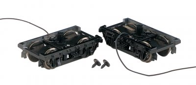 Die Cast Passenger Trucks (1 Pair/Card)