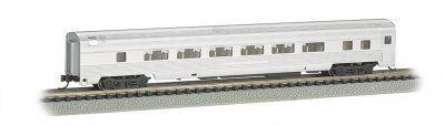 Unlettered Aluminum - 85 FT Coach w/ lighted interior