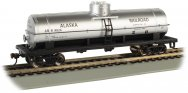 Alaska Railroad #9024 - 40' Single-Dome Tank Car (HO Scale)