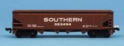 Southern - Four Bay, Six Car Hopper Set
