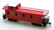 Off Center Caboose - The Dixie Line (HO Scale)