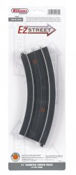 "E-Z Street 21"" Diameter Curved Track (4/Card)"