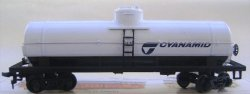 Tank Car - 40' Single Dome - Cyanamid