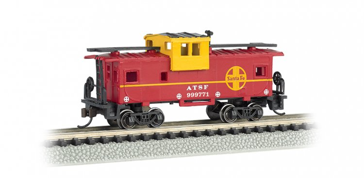 Santa Fe #999771 - 36' Wide-Vision Caboose - Click Image to Close