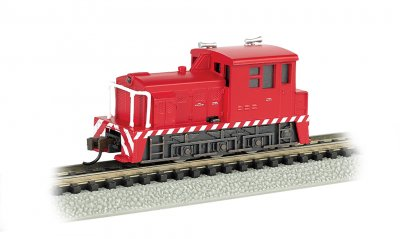 Industrial - Red with White Stripes - MDT Plymouth Switcher