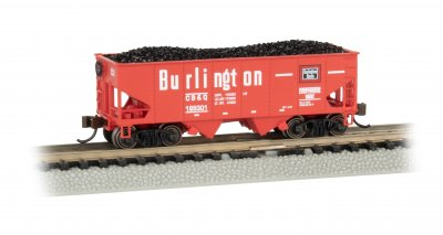 Burlington - USRA 55 Ton 2-Bay Hopper