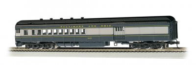 Baltimore & Ohio® - #1443 (blue, gray & black) 72' Combine (HO)