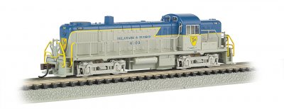 Delaware & Hudson #4103 - ALCO RS-3 - DCC