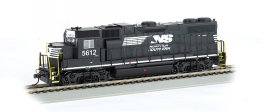 Norfolk Southern #5612 (Thoroughbred) - GP38-2 - DCC (HO Scale)