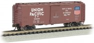 Union Pacific® Automated Railway (Brown) - AAR 40' Steel Box Car