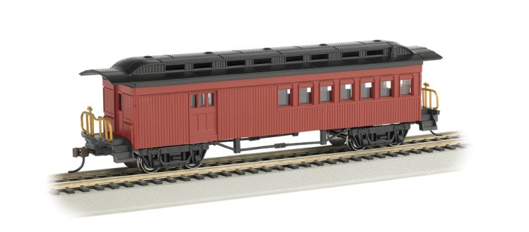 Combine (1860-80 era) - Painted Unlettered Red (HO Scale) - Click Image to Close