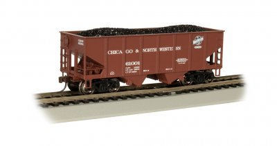 C&NW™ #61001 - 55-Ton 2-Bay USRA Outside Braced Hopper