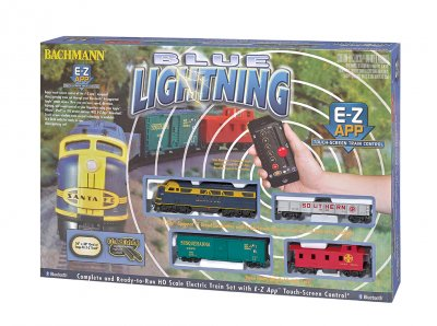 Blue Lightning - E-Z App® Train Control