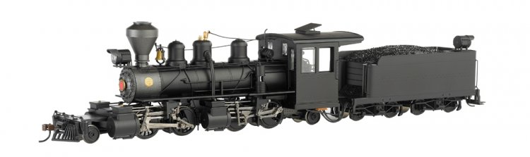 Black Steel Cab - Baldwin 2-4-4-2 - DCC - Click Image to Close