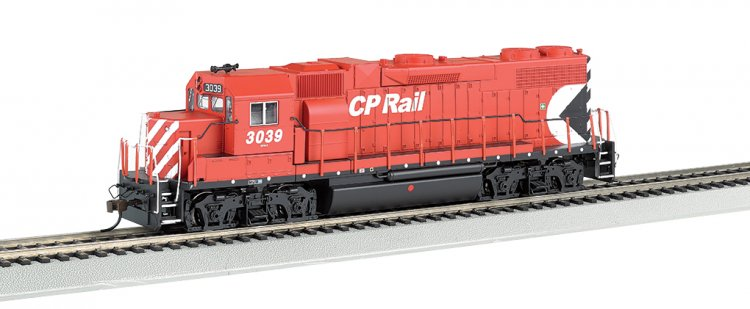 Canadian Pacific #3039 GP38-2 - DCC Sound Value (HO Scale) - Click Image to Close