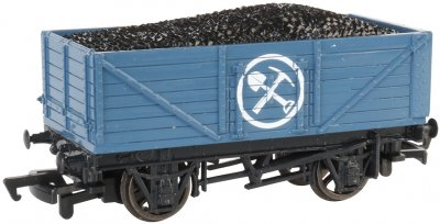 Mining Wagon with Load (HO Scale)