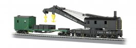 Chesapeake & Ohio® - 250-Ton Steam Crane & Boom Tender(HO Scale)