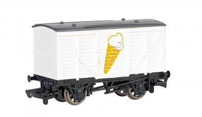 Ice Cream Wagon (HO Scale)