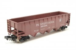 Pennsylvania - Four Bay, 5 Car Hopper Set