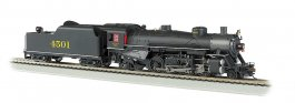 Southern #4501 Light 2-8-2 w/Long Tender - DCC Ready (HO Scale)