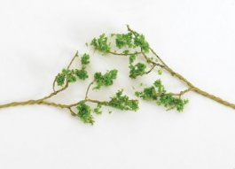 Wire Foliage Branches - Light Green
