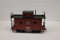 Caboose - Colorado & Southern (On30 scale)