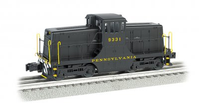 Pennsylvania RR #9331 - Scale 44 Ton Switcher